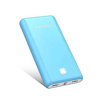 Poweradd pilot x7 20000mah portable charger external battery power bank compatible for iphone 11, 11