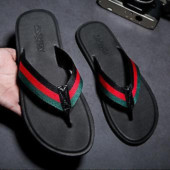 Men Flip Flops Summer Beach Slippers For Indoor Or Outdoor Sports