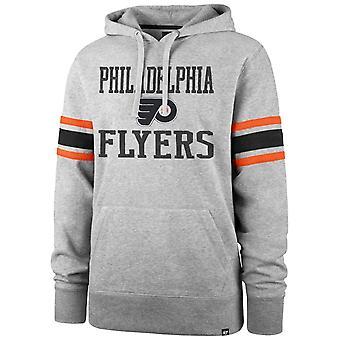 '47 Marka NHL Philadelphia Flyers Rękaw Rękaw Stripe Hoody