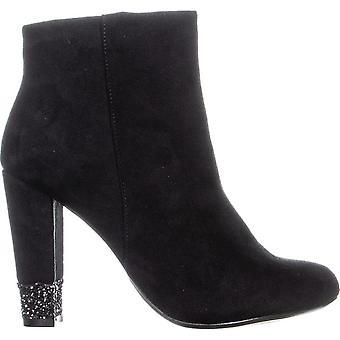 Xoxo Womens Yardley Fabric Closed Toe Ankle Fashion Boots