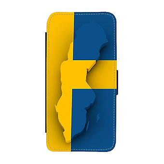Map Of Sweden iPhone 12 / iPhone 12 Pro Wallet Case