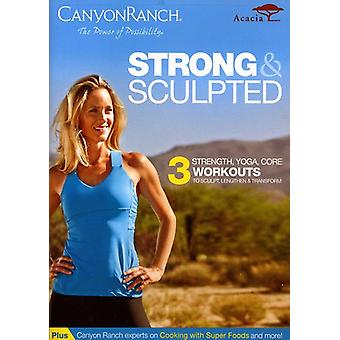 Canyon Ranch: Strong & Sculpted [DVD] Stati Uniti importare