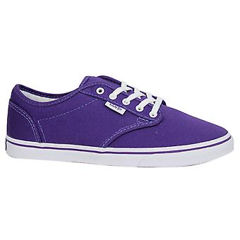Vans Atwood Low Canvas Lace Up Purple Womens Trainers Plimsolls NJO5SY B119B