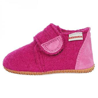 GIESSWEIN Wool Slippers Pink