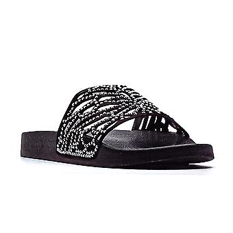 INC | Peymin Cut Out Slip-On Sandals