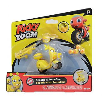 Ricky Zoom Scootio & ZoomCam Vehicle & Action Accessory Set