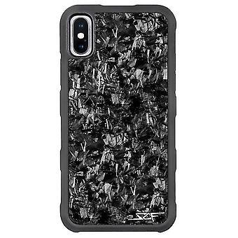 Iphone X & Xs Real geschmiedet Carbon Fiber Case   Rüstungsserie