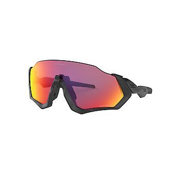 Oakley Flight Jacket OO9401 01 Matte Black/Prizm Road Sunglasses