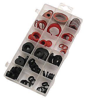 BikeTek Rubber Sealing Washer 141Pc Assortment Kit