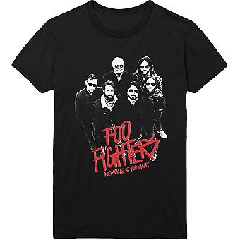 Foo Fighters Medicine At Midnight Photo Officiel Tee T-Shirt Unisex