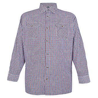 Carabou Brushed Check Long Sleeve Shirt