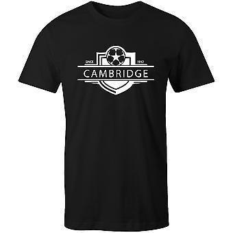 كامبريدج يونايتد 1912 أنشئت شارة كرة القدم تي شيرت
