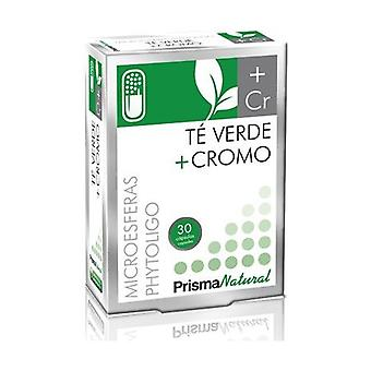 Green Tea + Chrome Microspheres 30 capsules