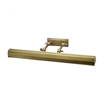 Lámpara De Pared Chawton Para Cuadros Antiguos De Latón 65.2cm, 4 Luces