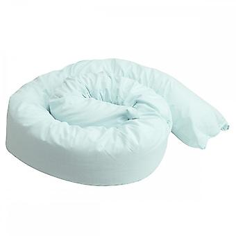 12 Ft Maternity Pillow And Case - Blue Check