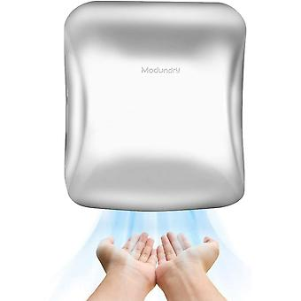 Modundry Hand Dryer, Automatic Electric High Speed Hand Dryers Stainless Steel for Bathrooms