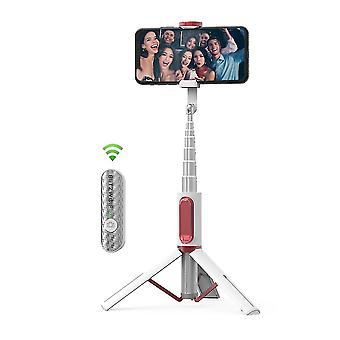 All in one portable bluetooth selfie stick