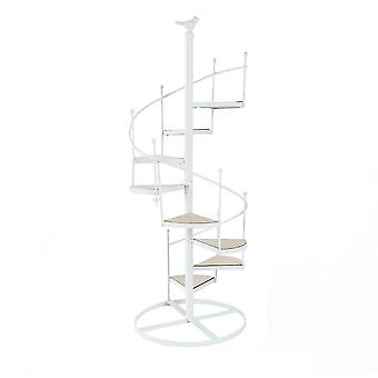 Multi Tier Iron Plant Stand, Wrought Iron Flower Pot Stand for Living Room Patio Balcony Garden