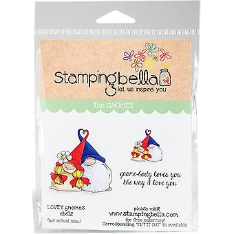 Штамповка Белла Цепляться марки-Lovey Гномы