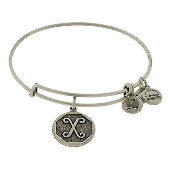 Alex and Ani Initial X Charm Bangle Bracelet - A13EB14XS