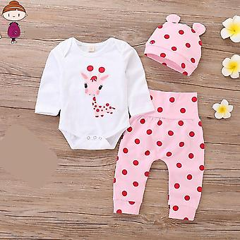 Baby Clothes, Clothing With Hat Spring Autumn