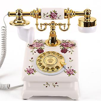 Antique Style Rotary Phone Princess French Style Old Fashioned Handset Telephone Tc-517s