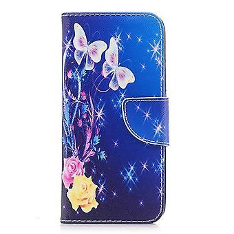 Cute design leather case for Motorola Moto G5 Plus - Multicolored (#7)