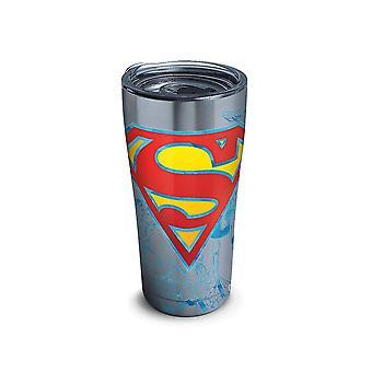 Superman acier inoxydable 20 oz Tervis® Tumbler avec couvercle