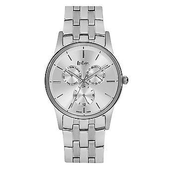 Mäns Watch Lee Cooper Silver Sundial Watch - LC06498.330