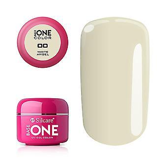 Base one - Color - UV Gel - White Angel - 000 - 5 gram