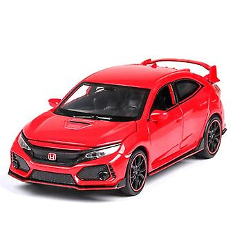 1:32 HONDA CIVIC TYPE R Diecasts Car Model(Red)