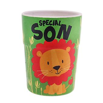 History & Heraldry Bamboo Crew Beaker Lions & Tigers Special Son Cup