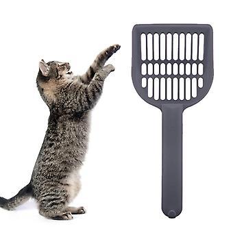 Kočičí špachtle / kbelík pro kočičí vrh Šedá
