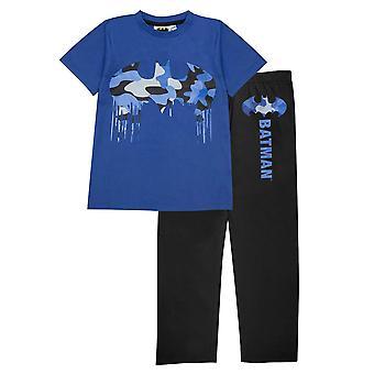 DC Comics Girls Batman Camo Logo Pyjama Set