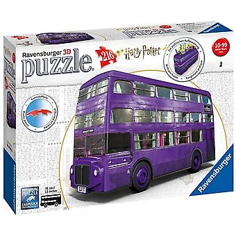 FengChun 11158 3D Puzzle Harry Potter Ritter Bus - 3D Puzzle fr Kinder und Erwachsene mit 216