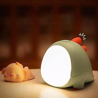 Night Light Silicone Touch Sensor Animal Warm White Adjustable Night Lamp Kids Baby Bedroom Desktop