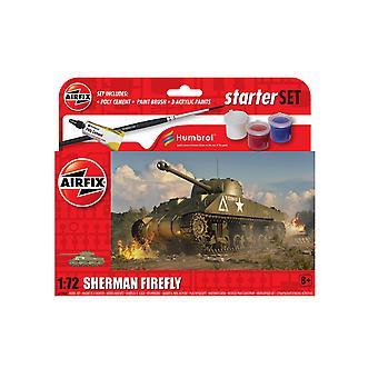 Airfix A55003 Starter Set Sherman Firefly 1:72 Model Kit