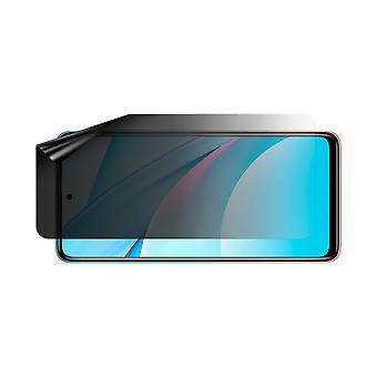 Celicious Privacy Lite (Landscape) 2-Way Anti-Glare Anti-Spy Filter Screen Protector Film Compatible with Xiaomi Mi 10T Pro 5G