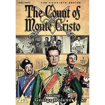 The Count Of Monte Cristo: The Complete Series 1956 DVD