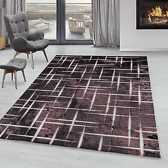 Tappeto del soggiorno RICA Short Pile Soft Flor Design Grid