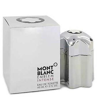 Montblanc Emblem Intense By Mont Blanc Eau De Toilette Spray 2 Oz (men)