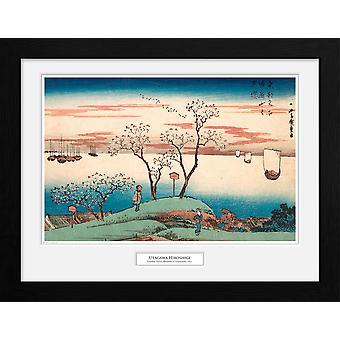 Hiroshige Cherry Blossom at Gotenyama Collector Print 30.5x41cm