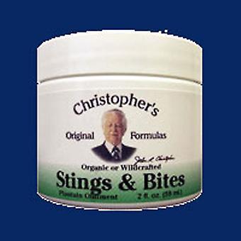 Dr. Christophers Formules Piqûres &Morsures (Pommade Plantain), 2 OZ