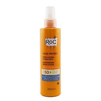 ROC Soleil-Protect Moisturising Spray Lotion SPF 50+ UVA & UVB (For Body) 200ml/6.7oz