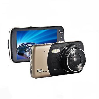 British Hd 1080p 4 Inch Car Dvr Dual Lens Video Recorder Camera