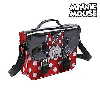 Shoulder Bag Minnie Mouse Black/Red