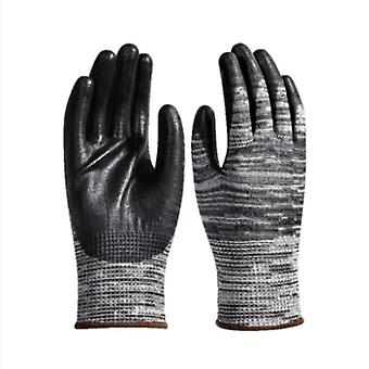 Industry Mechanic Work Gloves Pu Palm Coating Cut Resistant Gloves