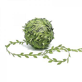 Artificial Vines Leaves String Trim Ribbon(100 Meters)