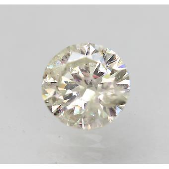 Sertifioitu 0,48 karat J SI2 pyöreä brilliant parannettu luonnollinen löysä timantti 5,01mm