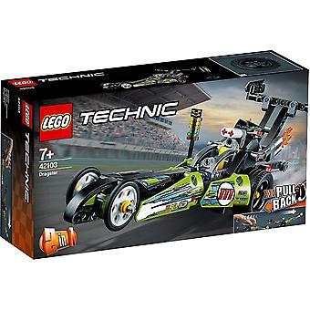 Auto da corsa Technic Dragster LEGO 42103